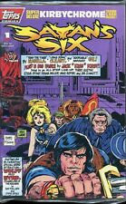 Satan's Six #1 Jack Kirby Factory Sealed Topps Trading Cards - NM (ref 0043)