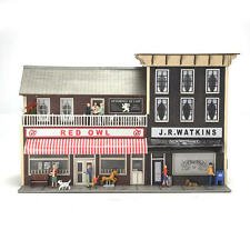 Menards ~ O Gauge Watkins City Block pre-built collectible building