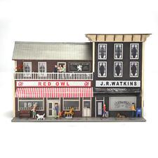 Menards ~ O Gauge Watkins City Block pre-built collectible building