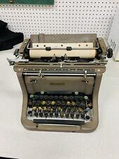 Vintage Underwood Standard Typewriter w/Working Keys & Cover