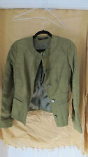 Daks London Ladies Linen Blend  waisted jacket size 10