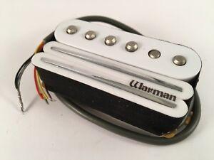 Warman Guitars White G-rail triple coil electric guitar pickup, 6 wire output