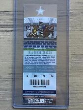 2009 Dallas Cowboys vs Atlanta Falcons Official NFL Ticket Stub 10/25/2009