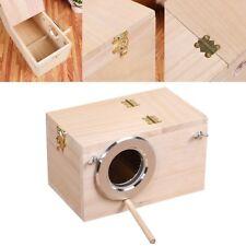 Baoblaze Budgie Nest Box Breeding Boxes Aviary Bird Nesting with Stick AU