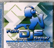 Various – For DJs Only 2014/04 - Club Selection  - Cd Sealed Sigillato House