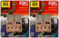 EBC Double-H Sintered Metal Brake Pads FA380HH (2 Packs - Enough for 2 Rotors)