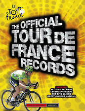 Tour De France Records, Chris Sidwells, New Book