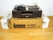 Technics SL-PS50 High-End CD-Player in OVP mit Zubehör, neuwertig, 2J. Garantie