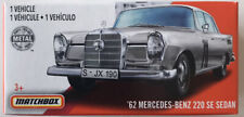 2020 Matchbox (Mix 6) #100 '62 Mercedes Benz 220 SE (Ewy Rosqvist) 1x Power Grab