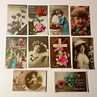 Postcards Vintage Ephemera from Greece / Greek Photography Photos - Lot of 10