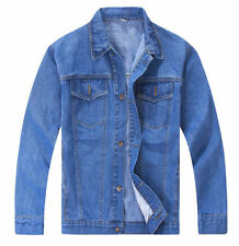 Men's Denim Coats and Jackets