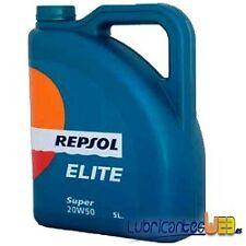Aceite lubricante coche Repsol ELITE Super 20w50 5Ltrs