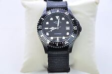 Rotary Men's Classic Round Stainless Steel Watch Black Silver in Box, New
