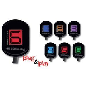 PZRacing GearTronic Zero Gear Indicator Suit Honda CBR1000RR Fireblade 2011