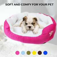 Pet Dog Cat Bed Puppy Cushion House Soft Warm Kennel Mat Blanket Pad Washable US