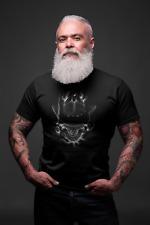 Cowboy Skull - Mens T Shirt Gangster, Hooligan Wild Wild West Western