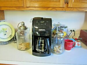 Cuisinart DGB-500BK 12 Cups Coffee Maker Grinder Grind & Brew Black