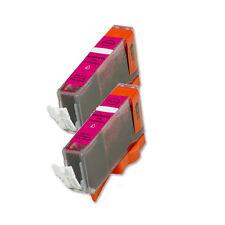 2 MAGENTA Ink Cartridge for Canon Printer CLI-221M MP640 MX860 MX870