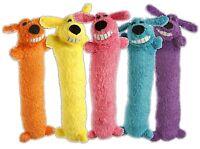 Multipet Original Loofa Dog Toy 12 Inch Random Colors