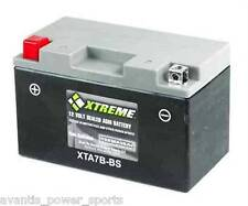 BATTERY  Xtreme AGM Permaseal XTAX7B-BS - FRESHLY ACTIVATED-ONE YR Exch WARRANTY
