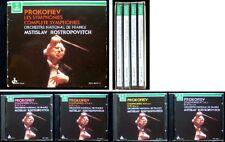 ROSTROPOVICH: PROKOFIEV Sinfonien 1 2 3 4 5 6 7 Erato 4CD Prokofjew Symphony