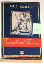 TRANELLI DEL FRANCESE 1944 CARLO ROSSETTI