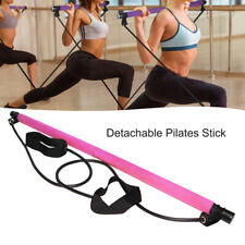 Yoga Exercise Bar Stick Muscle Toning bar Kit W/Resistance Band