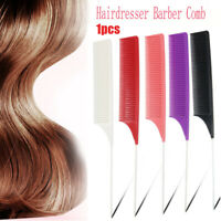 Hair Combs Hair Salon Dye Comb Separate Parting For Hair Styling Hairdressing UK