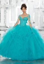 Quinceanera Dress Party Evening Ball Formal Prom Pageant Wedding Gown Custom All