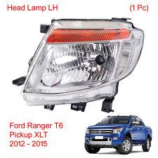 Head light Lamp Headlamp LH 1 Pc Fits Ford Ranger T6 Pickup XLT 2012 2013 14 15
