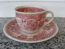 1 TASSE CAFE SUR SOUCOUPE VILLEROY& BOCH BURGENLAND  ROSE
