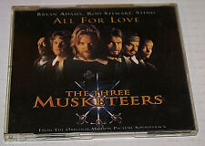 Sting - Bryan Adams/Rod Stewart/Sting All for love  The three. Musketeers CD UK