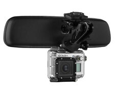 Mirror Mount Action Cam Bracket for GoPro Hero and Compatible