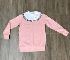 Fendi Girls Pink Jumper Age 10 Yrs BNWT ‼️‼️RRP £174 ‼️‼️