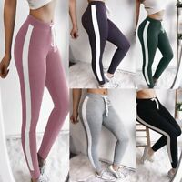 Women's Slim Fit Sports YOGA Workout Gym Fitness Leggings Pants Athletic Clothes
