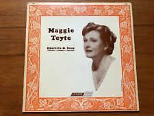 Maggie Teyte~Operetta & Song~French, German, English~1964 Mono LP + Lyric Insert