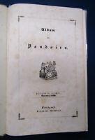 Album der Boudoirs. Publikation der Zeitschrift Europa 1. Band 1839 selten sf