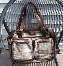 Houndstooth Lap Top Bag- Work Bag