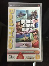 FREE SHIPPING PSP GRAND THEFT AUT VICE CITY STORIES  JAPAN