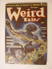 Weird Tales, Sept 1941, Beyond the Threshold by Derleth, Quinn, Ashton Smith