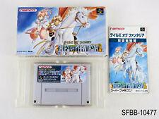 Complete Tales of Phantasia Super Famicom Japanese Import SFC Japan US Seller B