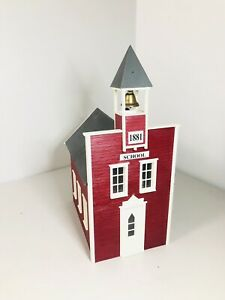 PIKO LITTLE RED SCHOOL HOUSE G Scale Building Kit 62243