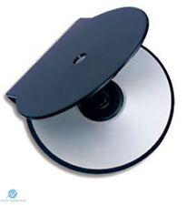 500 SOLID BLACK Clam Shell in plastica di alta qualità Custodia Singola CD DVD memoria su disco