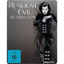 Resident Evil: Retribution (Blu-ray, Steelbook) - Milla Jovovich - neu & OVP