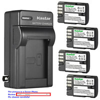 Kastar Battery AC Wall Charger for Pentax D-Li90 & D-BC90 K-BC90 39830 39835