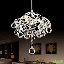Modern LED crystal small chandelier aisle pendant lamp hallway ceiling lights
