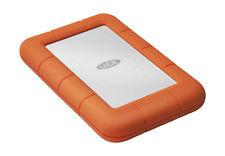 4TB Lacie Rugged Mini USB3.0 Portable External Hard Drive, Orange
