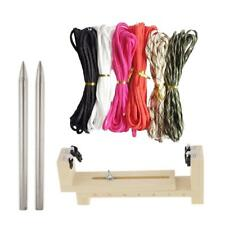 1 Set Paracord Bracelet Maker Parachute Cord Braid Jig Tools Needles Buckles