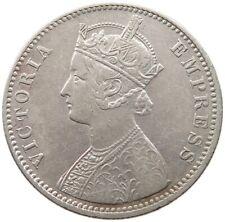 INDIA BRITISH RUPEE 1901 VICTORIA  #qw 693