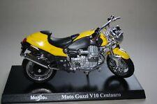 Starline MOTO GUZZI v50//v 50 Monza Bleu Clair Lightblue 1:24 Moto Motorbike